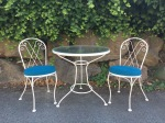 A Tale of a Vintage Metal Bistro Set